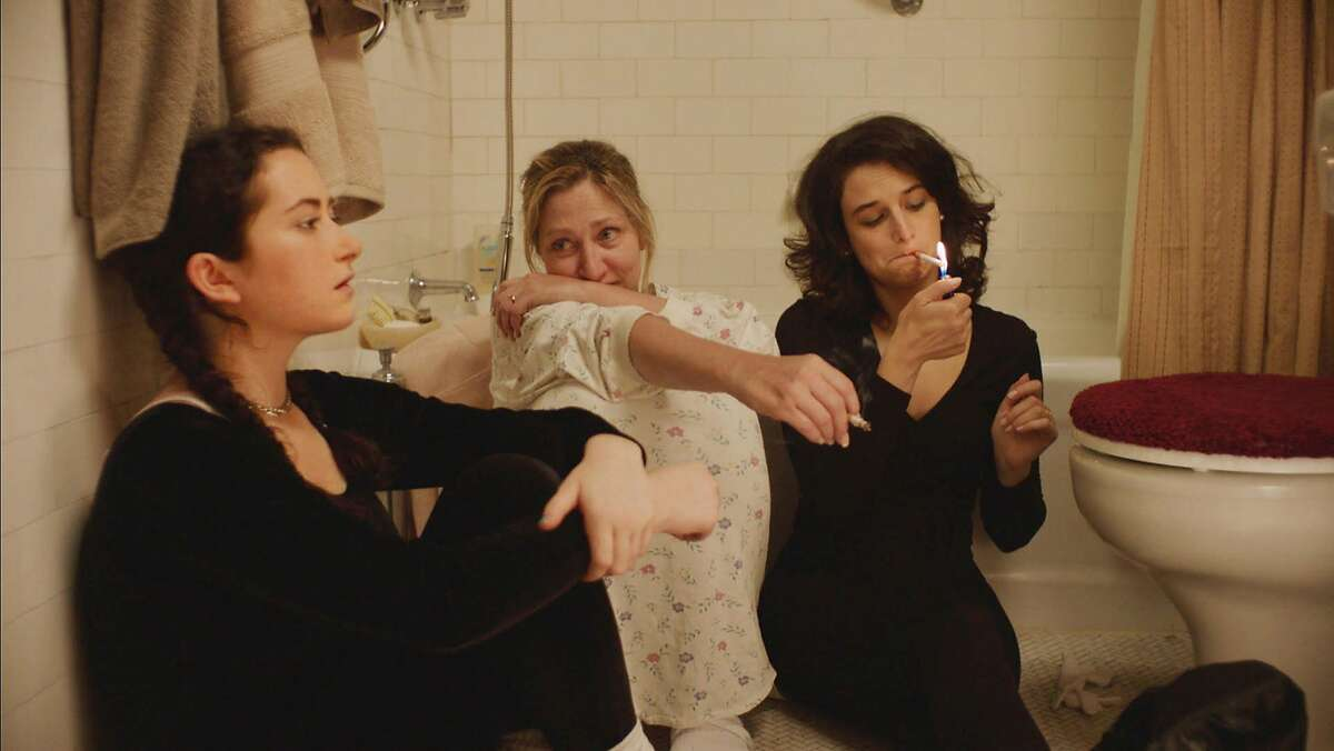 """L-R: Abby Quinn, Edie Falco, and Jenny Slate in a scene from """"Landline,"""" opening at Bay Area theaters on Friday, July 28. Photo Courtesy of SFFILM/Amazon Studios."""
