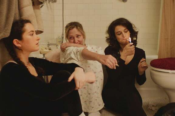 "L-R: Abby Quinn, Edie Falco, and Jenny Slate in a scene from ""Landline,"" opening at Bay Area theaters on Friday, July 28. Photo Courtesy of SFFILM/Amazon Studios."