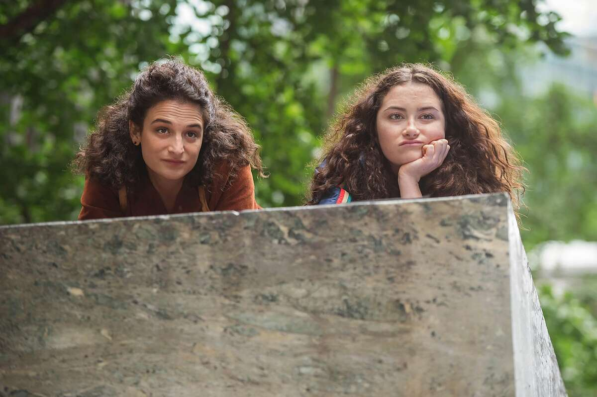 """L-R: Jenny Slate and Abby Quinn play sisters in """"Landline,"""" opening at Bay Area theaters on Friday, July 28. Photo Courtesy of SFFILM/Amazon Studios."""