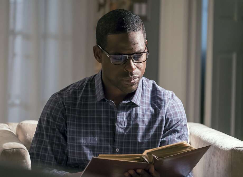 """This image released by NBC shows Sterling K. Brown in """"This Is Us."""" Brown was nominated for an Emmy Award for outstanding lead actor in a drama series on Thursday, July 13, 2017. The Emmy Awards ceremony, airing Sept. 17 on CBS, will be hosted by Stephen Colbert (Ron Batzdorff/NBC via AP) Photo: Ron Batzdorff, Associated Press"""