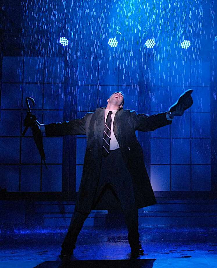 A shot from Singin' in the Rain, the Summer Theatre of New Canaan's summer musical. Photo: Contributed Photo / New Canaan News