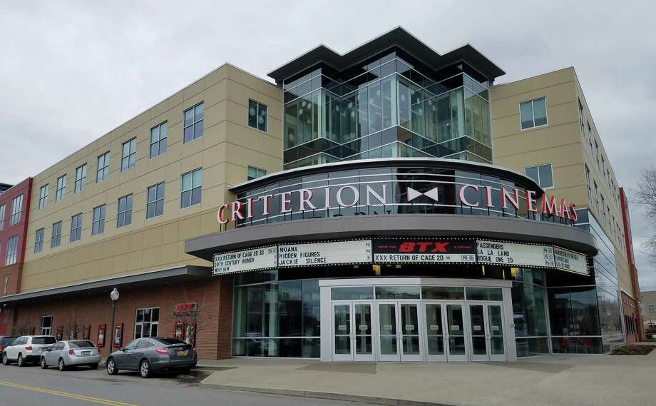 The Bow Tie Criterion Cinemas built by Bonacio Construction in downtown Saratoga Springs could be a model for plans at Monument Square in downtown Troy. (Chris Churchill / Times Union)