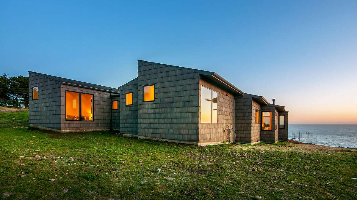 The Sea Ranch compound features three structures, each on more than an acre of land.�