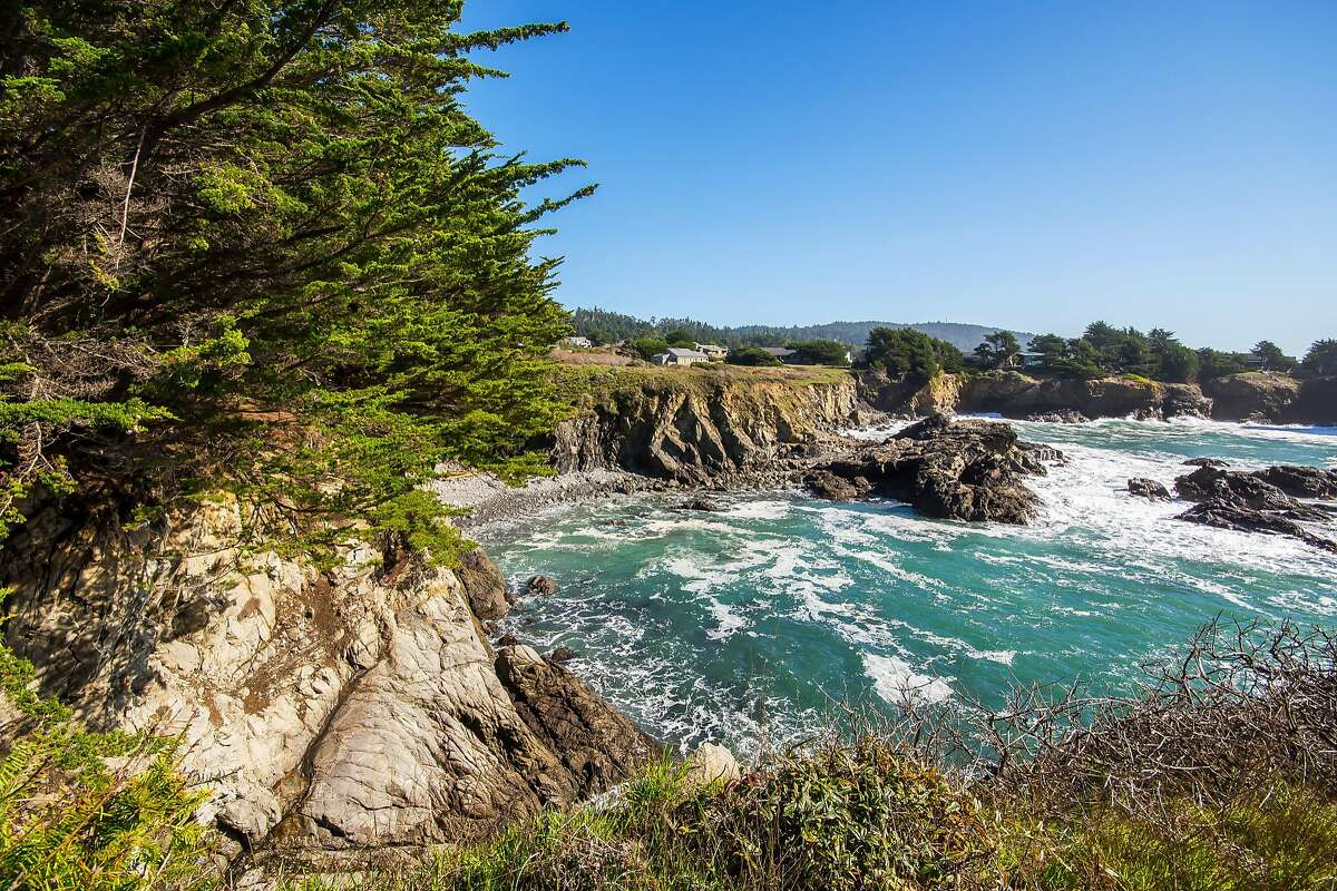 The three-home compound is located in the iconic Sea Ranch community.