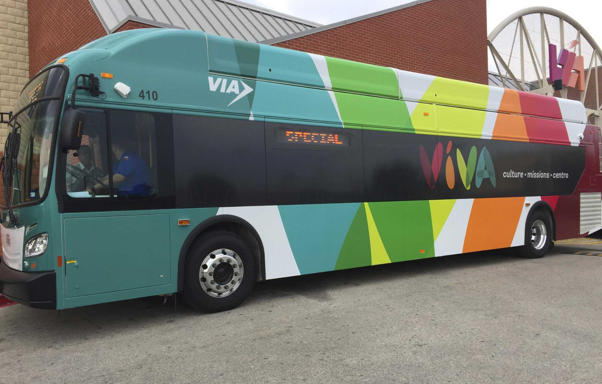 Viva Buses Start Second Year Connecting San Antonio