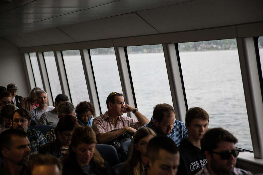 As of 2017, Kitsap had the highest percentage of super commuters in the State of Washington. Here's hoping the fast ferry in this file photo has improved that commute.  Photo: GRANT HINDSLEY, SEATTLEPI.COM / SEATTLEPI.COM