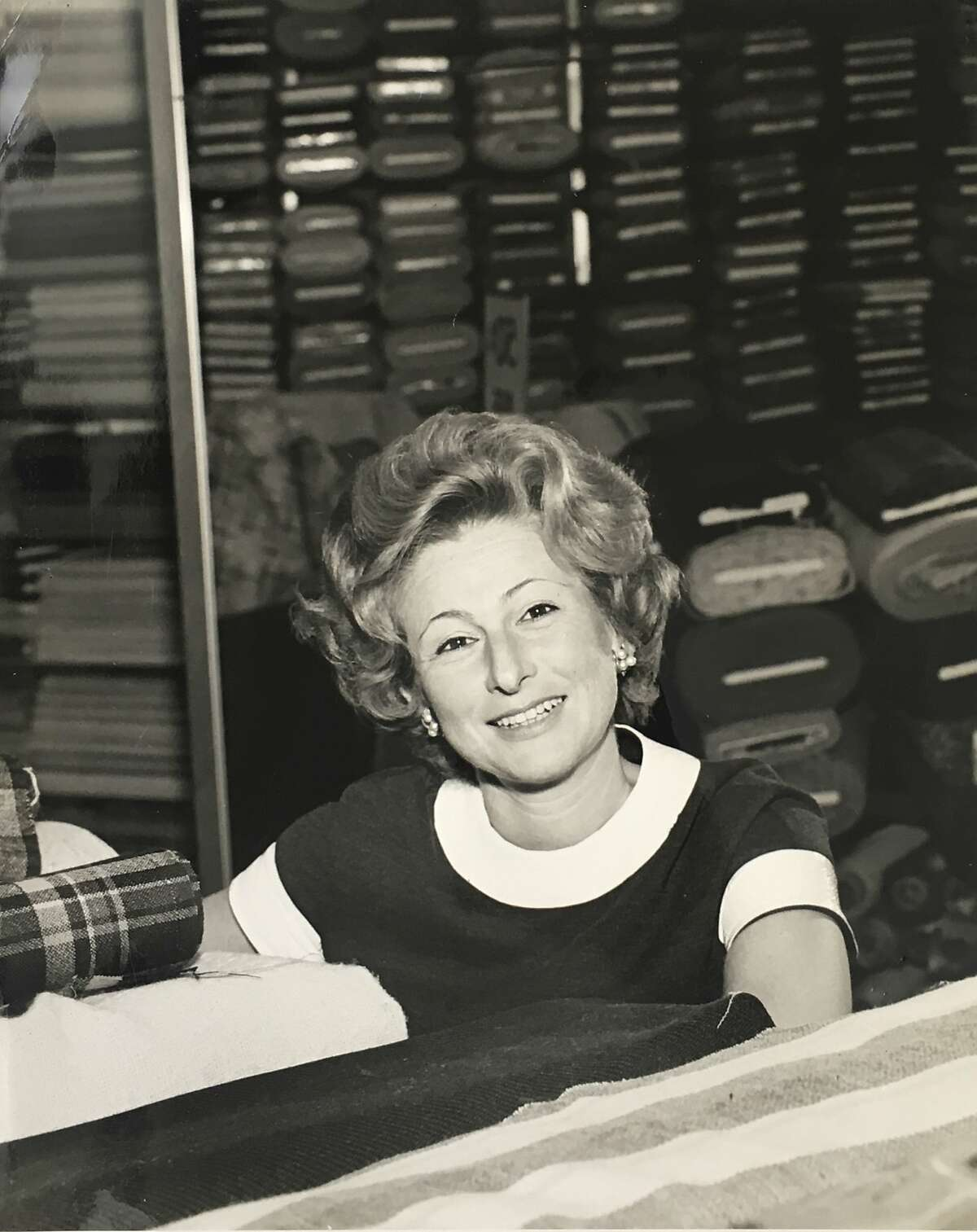 Lucy Spector, co-founder of Britex Fabrics in San Francisco, in an undated photo. She died July 1 at age 93.