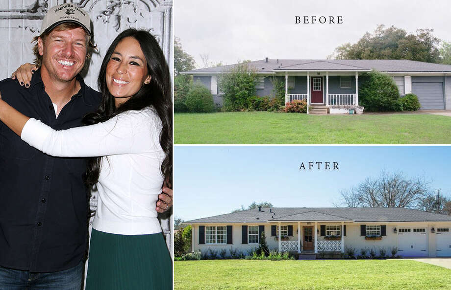 """A home designed by Chip & Joanna Gaines for Season 4 of HGTV's wildly-popular """"Fixer Upper"""" show is for sale in Woodway, Texas for $290,000. Photo: Getty Images 