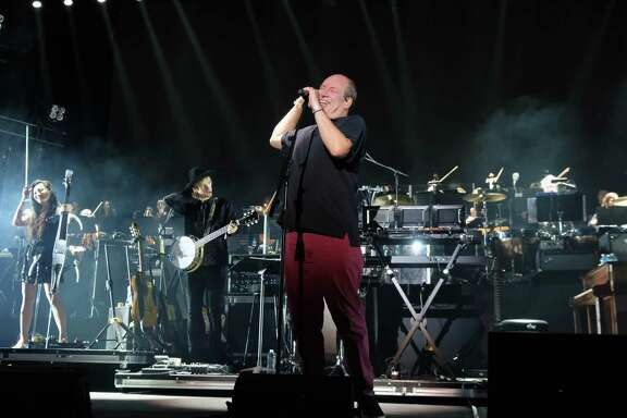 INDIO, CA - APRIL 16:  Hans Zimmer performs on the Outdoor Theatre during day 3 of the Coachella Valley Music And Arts Festival (Weekend 1) at the Empire Polo Club on April 16, 2017 in Indio, California.  (Photo by Frazer Harrison/Getty Images for Coachella)