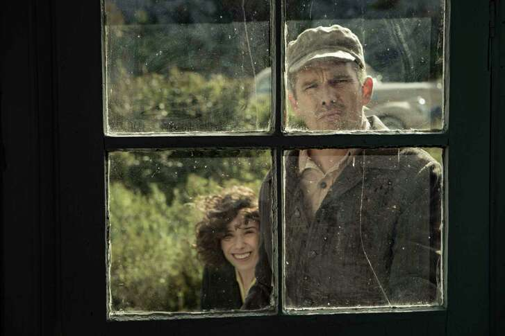 """Sally Hawkins, left, and Ethan Hawke star in """"Maudie,"""" a biopic about Canadian folk artist Maud Lewis."""