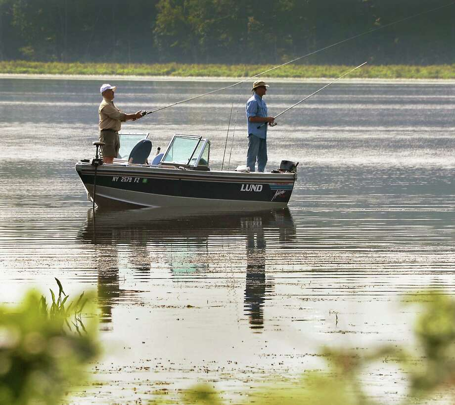 Grab your fishing rod and tackle box because Saturday, Sept. 23 is a free fishing day in New York, in honor of National Fishing and Hunting Day. Click through the slideshow for tips on where to fish (and for what) in the Capital Region this fall. Photo: John Carl D'Annibale, Albany Times Union