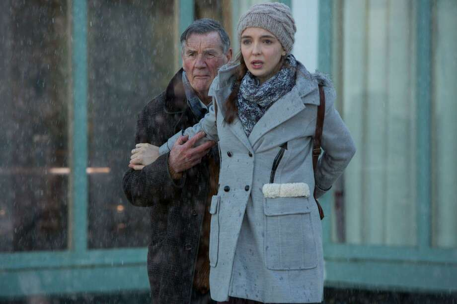 "Tom (Michael Palin) and his friend Hannah (Jodie Comer) face a demanding apparition from Tom's childhood that has been causing death and destruction to people around them in ""Remember Me"" on PBS. Photo: PBS"