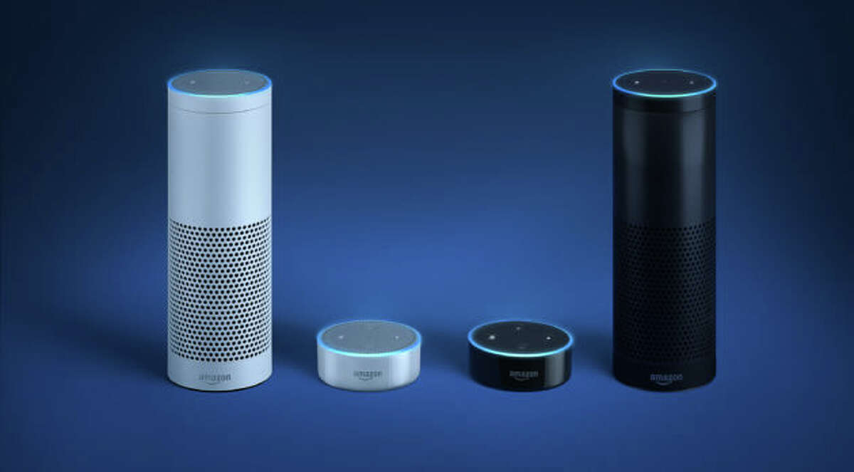 Amazon's Alexa-powered Echo and Echo Dot speakers were big sellers.