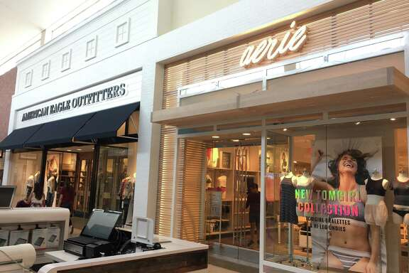 Aerie has opened a store next to sister chain American Eagle Outfitters in Memorial City Mall, which is owned by Houston-based Metro­National.