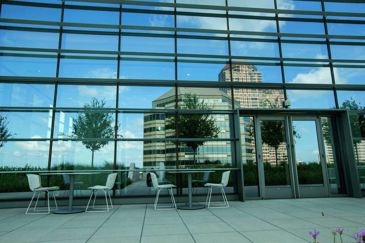 The Terrace is shown at the new BHP Billiton headquarters office tower in the Galleria area on Tuesday, July 11, 2017, in Houston. ( Brett Coomer / Houston Chronicle )