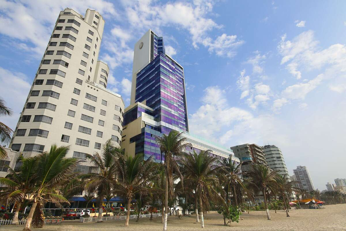 The 26-story InterContinental Cartagena de Indias is in the city�s Bocagrande district, a few minutes to the colonial center.