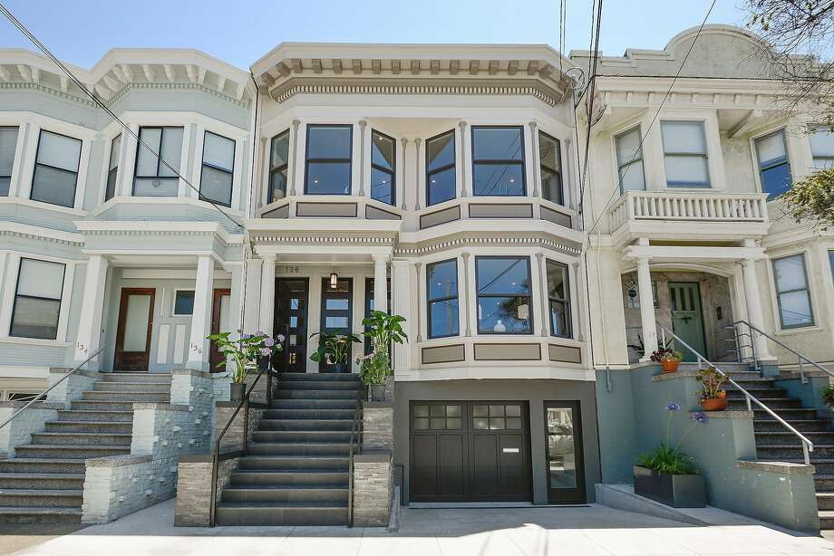 138-140 8th Ave. in San Francisco's Lake District is a finely remodeled Edwardian available for $4.496 million. Photo: Open Homes Photography