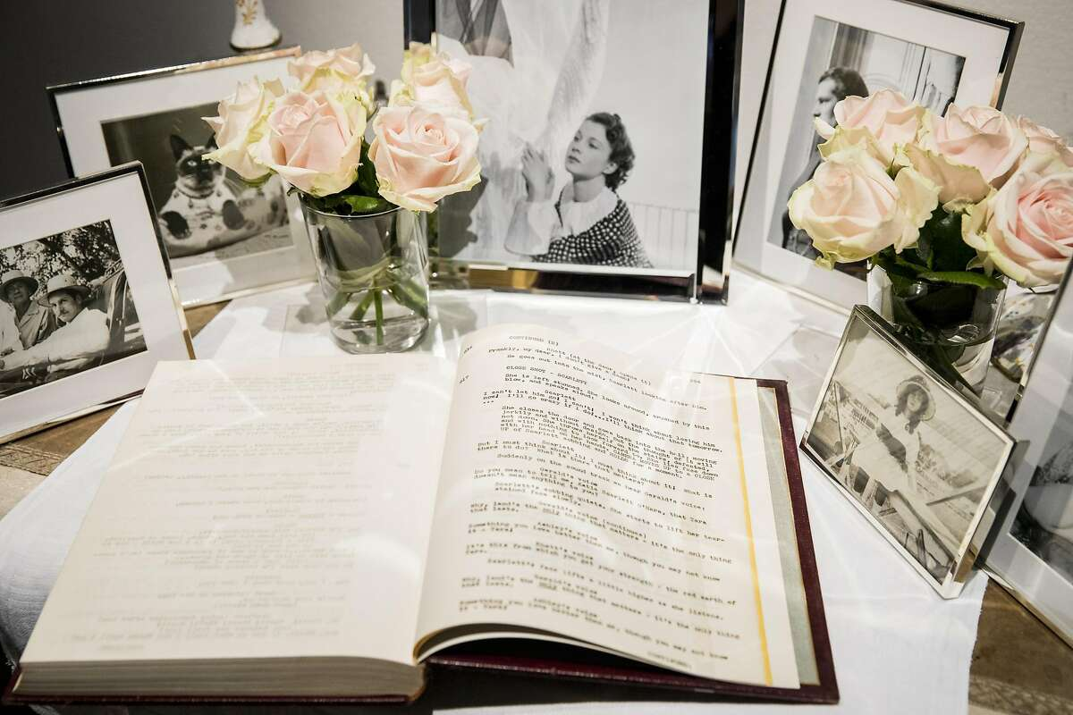 LONDON, ENGLAND - JULY 11: Hollywood Icon Vivien Leigh's personal copy of Gone with the Wind film script goes on display as Sotheby's announces the sale of her personal collection at Sotheby's on July 11, 2017 in London, England. An exhibition of highlights from the auction is now open at Sotheby's in London until 11 August, ahead of the sale which will take place on 26 September 2017. (Photo by Tristan Fewings/Getty Images for Sotheby's)