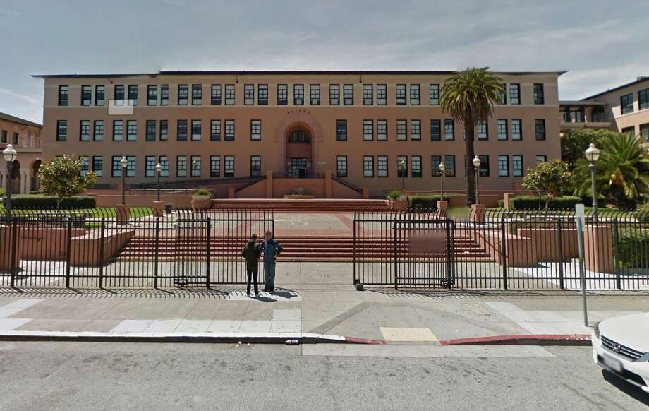 San Francisco police blocked the area near Balboa High School and several schools went around noon Thursday after a reported incident, authorities said. Photo: Google Street View