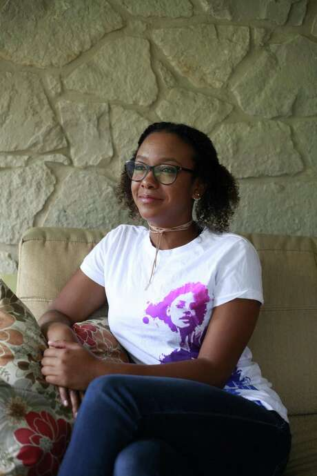 """On Saturday, July 15, 2017, Jada Young, will be traveling to Washington D.C. along with her mother Janet Young to attend the 6th annual Girl Up Leadership Summit hosted by the U.N. foundation. Young, 16, said that she has always been interested in """"things going on around the world."""" With age Young came to realize that the discrimination people face in America is nothing compared to the discrimination people face in other developing countries. With that in perspective Young said that she is very excited to attend the summit and learn from it. Photo: Srijita Chattopadhyay / Express-News / © 2017 San Antonio Express-News"""