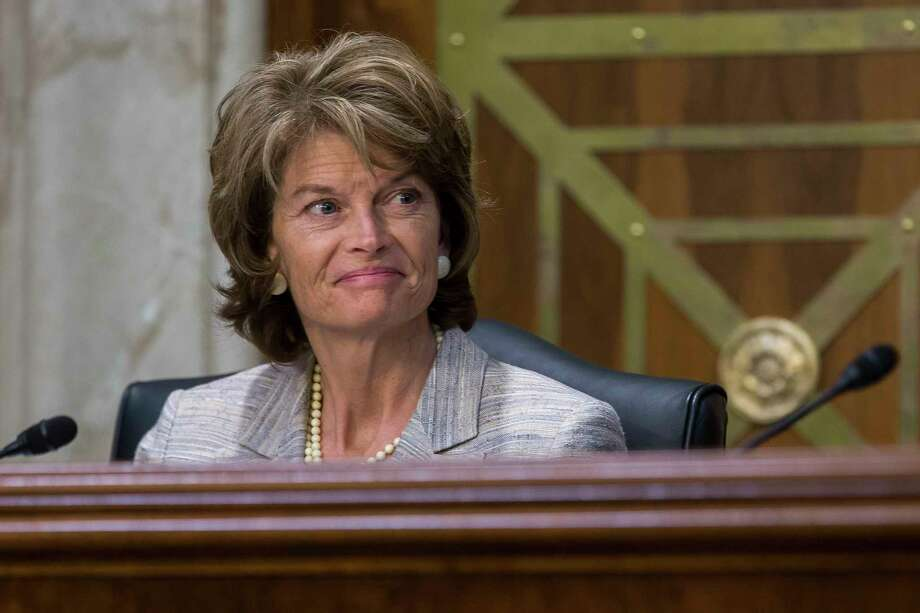Sen. Lisa Murkowski (R-Alaska), chair of the Senate Energy and Natural Resources Committee. (Zach Gibson/The New York Times) Photo: ZACH GIBSON, STF / NYTNS