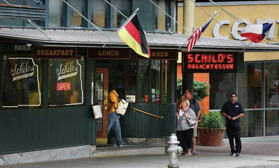 Schilo's Delicatessen, which serves German food, marks 100 years this year. It started in Beeville before moving to downtown San Antonio. Photo: Bob Owen /San Antonio Express-News / ©2017 San Antonio Express-News