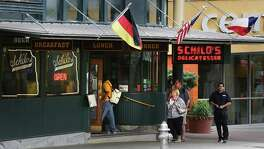 Schilo's Delicatessen, which serves German food, marks 100 years this year. It started in Beeville before moving to downtown San Antonio.