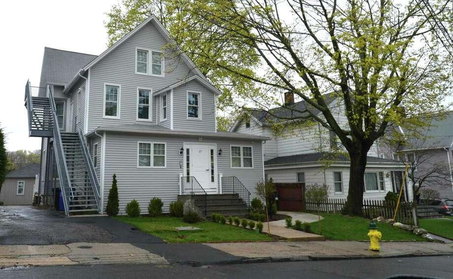 The property at 17 Quintard Ave. Photo: Alex Von Kleydorff / Hearst Connecticut Media / Norwalk Hour