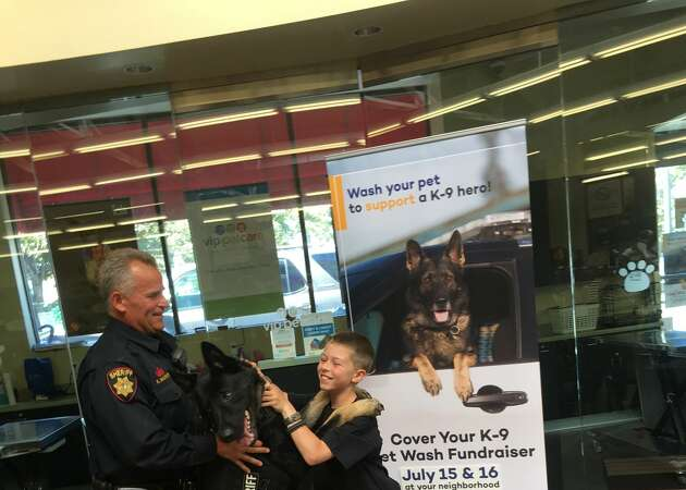 9-year-old from Marin County raises nearly $1,400 to buy police dog vests