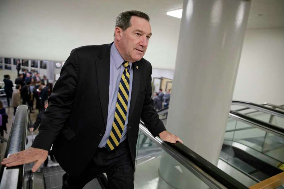 Joe Donnelly, D-Ind., has sponsored a bill that aims to make it harder to transfer jobs to other countries. Photo: J. Scott Applewhite, STF / Copyright 2017 The Associated Press. All rights reserved.