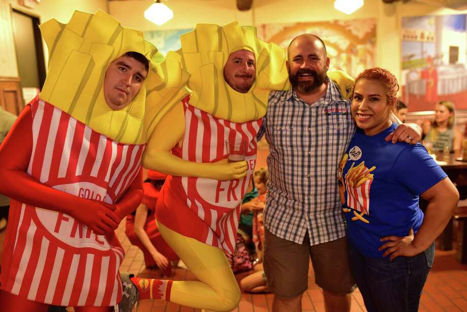 Party at Saint Arnold's for National French Fry Day on Thursday July 13, 2017 at Saint Arnold's Brewery near Downtown Houston.Click through to see photos from the event...  Photo: Jamaal Ellis J.vince Photography, For The Chronicle / ©2017 Houston Chronicle