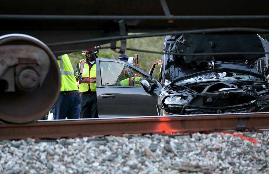 Railroad-related crashes in 2016Total crashes: 403Percent of all crashes: 0.2Fatalities: 2 Photo: Godofredo A. Vasquez, Houston Chronicle / Godofredo A. Vasquez