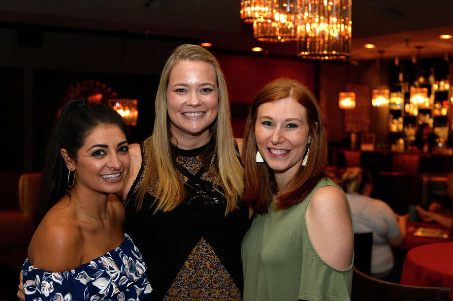Crystal King, Ashley Carter and Taryn King during the Game of Thrones trivia night at Portus Lounge on Thursday. The event followed their recent popular Harry Potter trivia night.  Photo taken Thursday 7/13/17 Ryan Pelham/The Enterprise Photo: Ryan Pelham/Ryan Pelham/The Enterprise