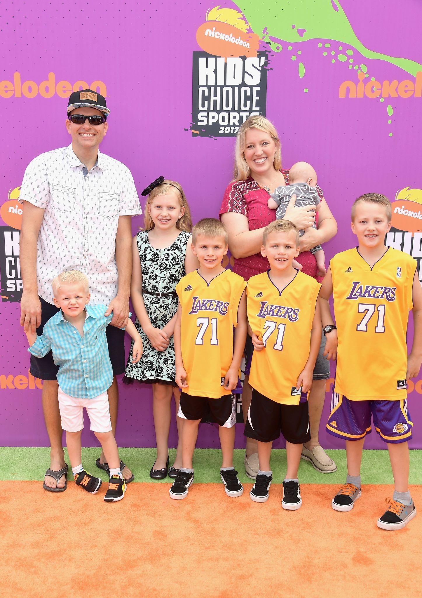 CA: Nickelodeon Kids' Choice Sports Awards 2017 Arrivals