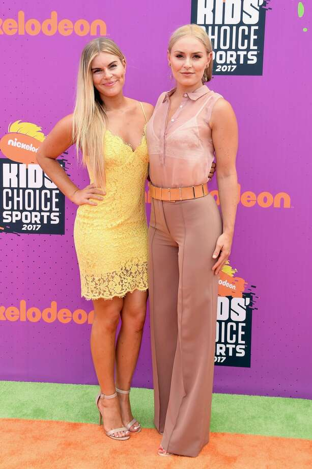 LOS ANGELES, CA - JULY 13:  World Cup skiier Lindsey Vonn (R) attends Nickelodeon Kids' Choice Sports Awards 2017 at Pauley Pavilion on July 13, 2017 in Los Angeles, California.  (Photo by Matt Winkelmeyer/Getty Images) Photo: Matt Winkelmeyer/Getty Images