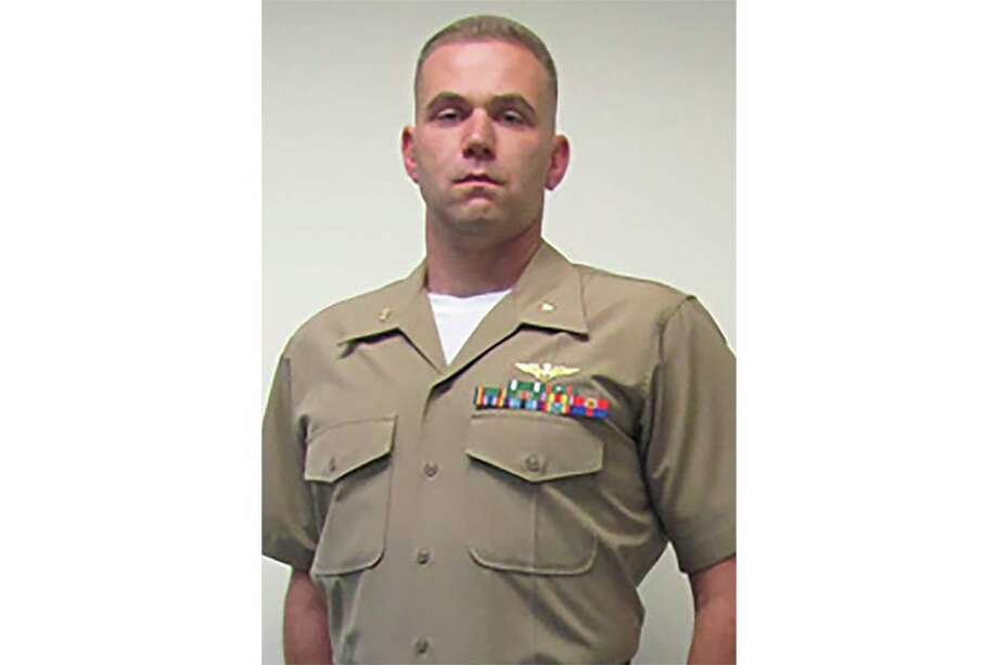A Waterford resident was among the 16 people killed Tuesday, July 11, 2017, when a U.S. military plane crashed in rural Mississippi. Marine Maj. Caine Michael Goyette, 41, was assigned to the Marine Aerial Refueler Transport Squadron 452, the Marines said Friday. Photo: U.S. Marine Corps
