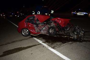 Driver in head-on collision on Fred Hartman Bridge was drunk