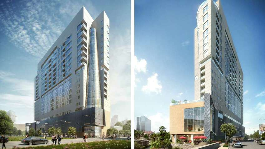 A $116 million hotel-condominium project is underway for San Antonio's art district. The project is expected to be completed by 2019.