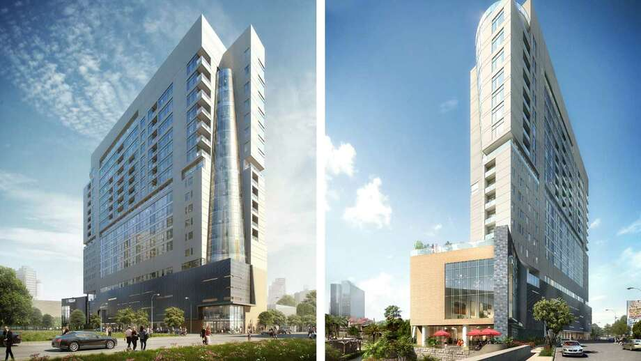 A $116 million hotel-condominium project is underway for San Antonio's art district. The project is expected to be completed by 2019. Photo: Courtesy The Arts Residences