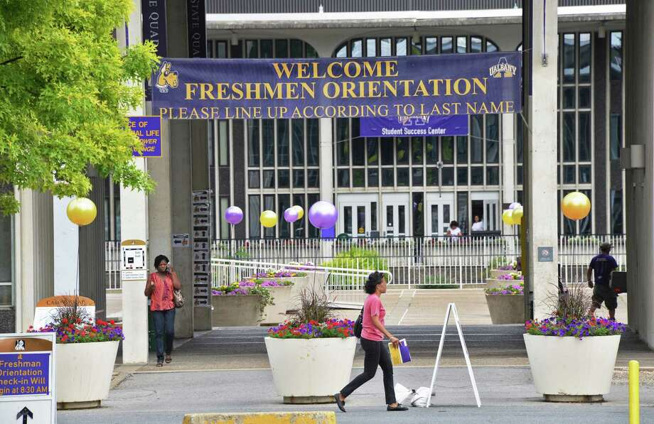 The University at Albany readies for its new freshman Tuesday July 11, 2017 in Albany, NY.  (John Carl D'Annibale / Times Union) Photo: John Carl D'Annibale