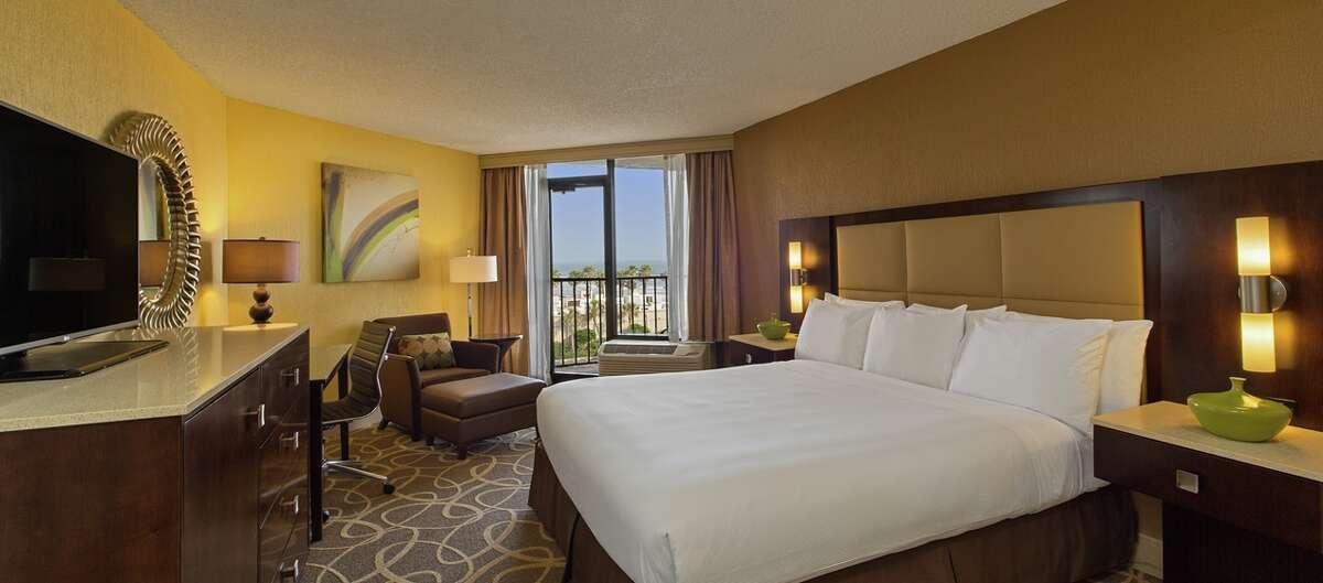 Hilton Galveston Island Resort 5400 Seawall Blvd.  Galveston