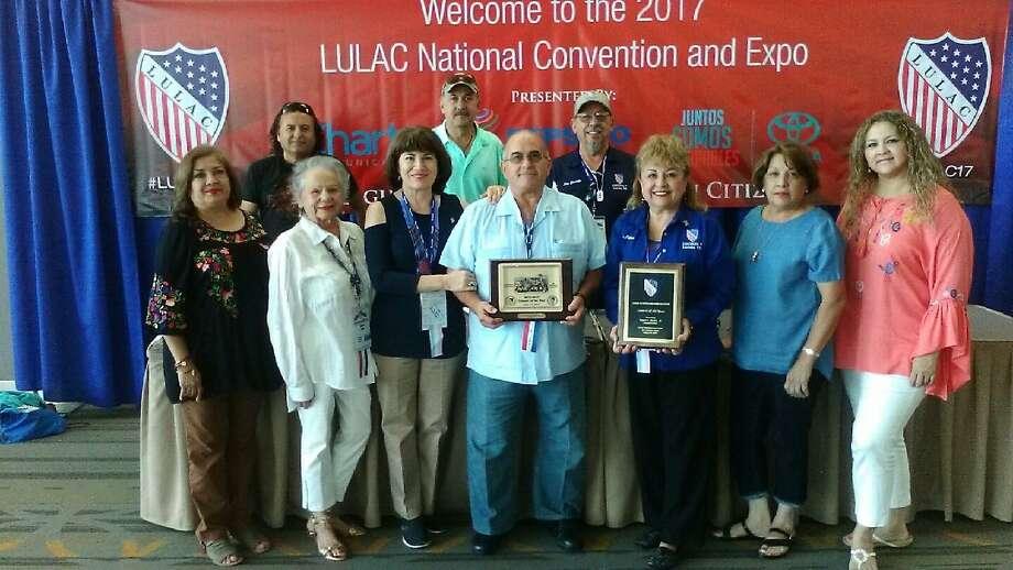 El Consejo N. 7 de LULAC fue nombrado Consejo Nacional del Año en la 88ava convención anual nacional. Photo: Foto De Cortesía
