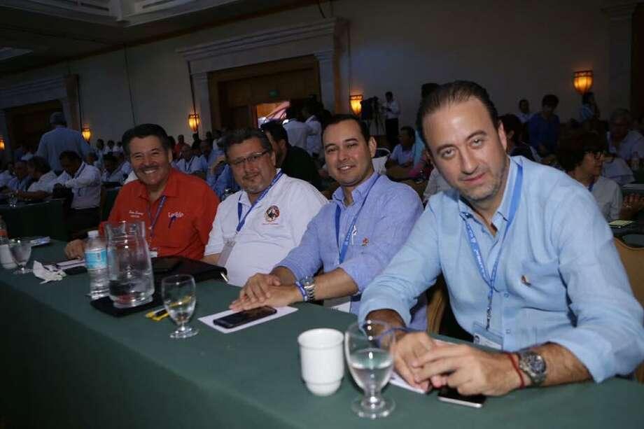 """Más de 200 Agentes Aduanales de Nuevo Laredo asistieron al congreso """"99 Años Impulsando la Competitividad de México"""". Photo: Foto De Cortesía"""