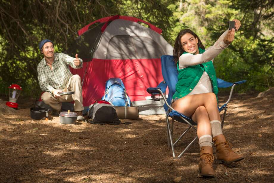 Bookings for campsites are up this year, and there's one generation to thank. (To see Texas' best camping spots, scroll through the gallery.)