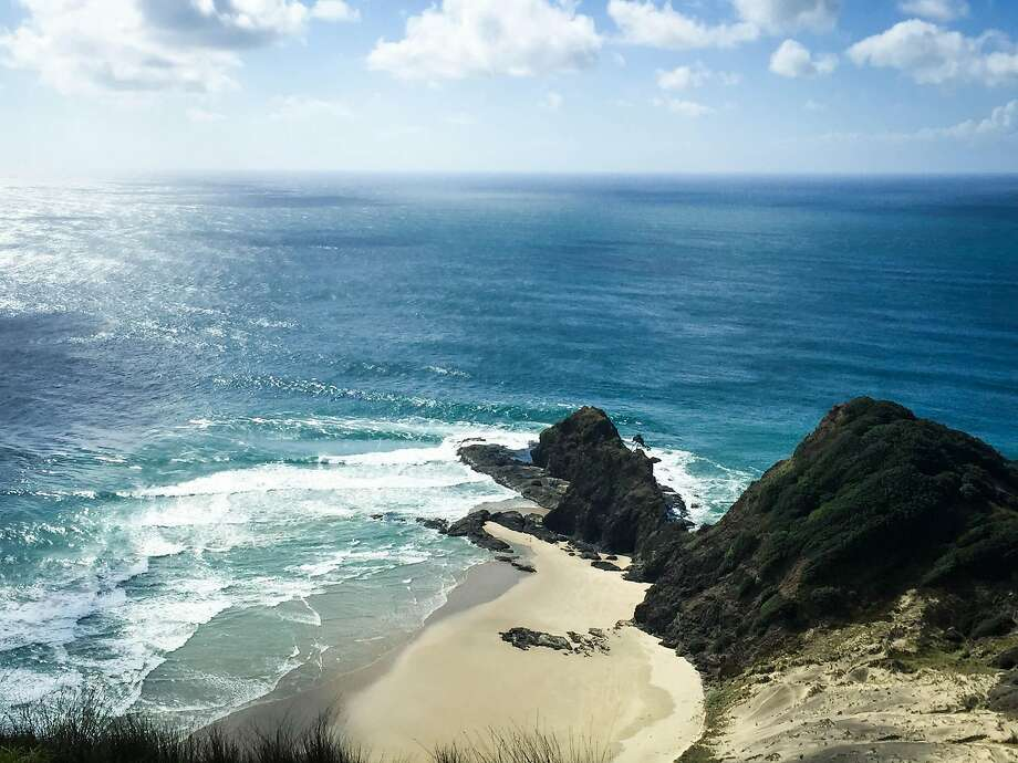 As legend goes, Te Rerenga Wairua at Cape Reinga is where Maori spirits leap to return to Hawaiki, the land of their ancestors. Photo: Jill K. Robinson, Special To The Chronicle