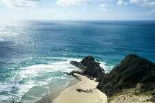 As legend goes, Te Rerenga Wairua at Cape Reinga is where Maori spirits leap to return to Hawaiki, the land of their ancestors.
