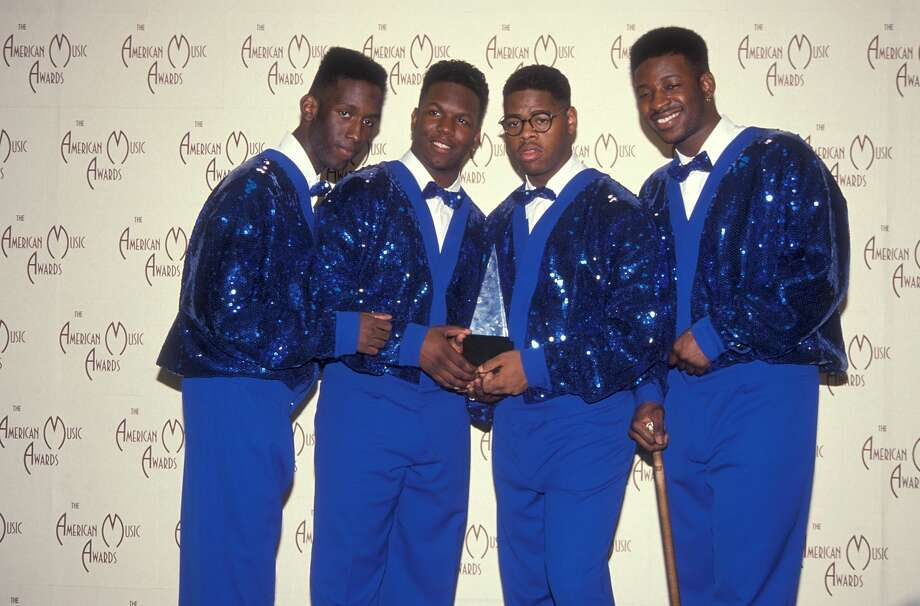Boyz II Men (Then) R&B group Boyz II Men attend the 19th Annual American Music Awards on January 27, 1992 at the Shrine Auditorium in Los Angeles, California. Photo: Ron Galella/WireImage