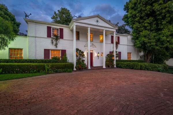 The house at 100 Delfern Dr. in Los Angeles is on the market for $13.995M. It was once home to Mia Farrow, Audrey Hepburn and Eva Gabour.   Click here for the full listing