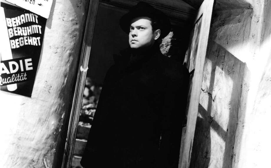"The Hearst movie meet-up group will be seeing the new restoration of the 1949 espionage classic ""The Third Man,"" starring Orson Welles, at the Bethel Cinema. Photo: Contributed Photo / Photo Courtesy of Rialto Pictures."