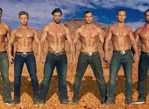 Thunder From Down Under, an all-male review, is coming to the Ridgefield Playhouse and Foxwoods.